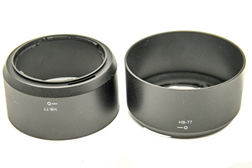 Protastic HB-77 HB77 zonnekap voor AF-P DX Nikkor Nikon 70-300 mm lens, 2 stuks