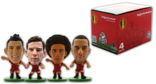 SoccerStarz 400763 - Belgien Fußball-Nationalmannschaft 4 Player Box E