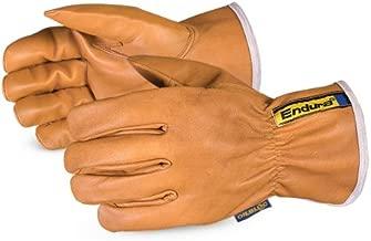 378GOBTKLL Endura Kevlar-Lined Waterstop/Oilbloc Winter Goat-Grain Drivers Glove, Size Large