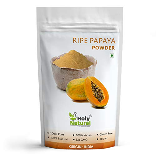 Ripe Papaya Fruit Spray Dried Powder