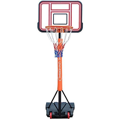 Tragbare Basketballbretter Kinder Basketball Rack-Innen Lifting Shooting Rahmenjugendausbildungs Shooting Rahmenkindergarten im Freien Basketball-Feld Basketball Ständer Basketballbretter