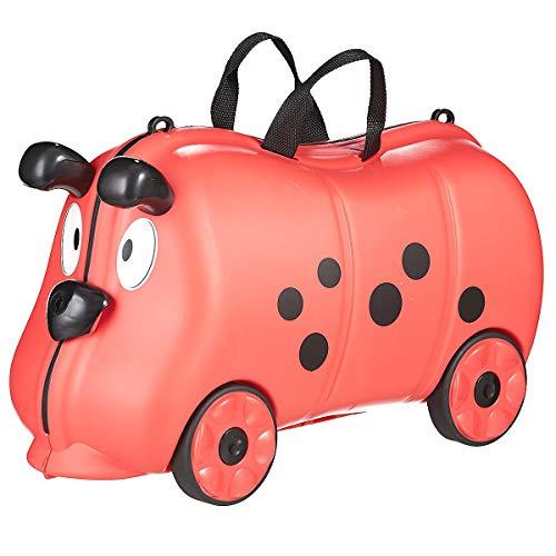 Koffer-direkt.de Kids Franky Friends Kindertrolley 52 cm Ladybug