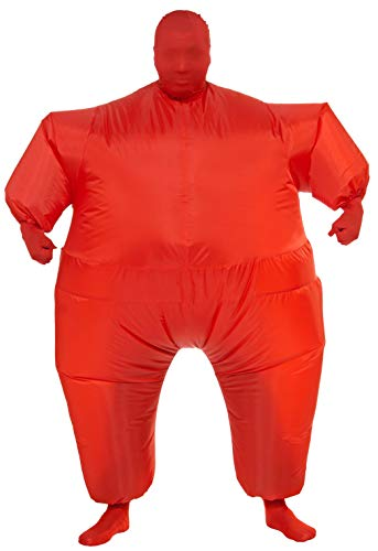 Rubie's Inflatable Full Body Suit Costume, Red, One Size