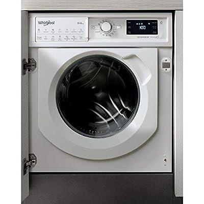 Whirlpool FreshCare BIWDWG961484UK Integrated Washer Dryer, 9/6kg, 1400rpm