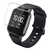 vaxson 3-pack tpu pellicola protettiva, compatibile con aukey ls02 1.4 smartwatch smart watch, screen protector film [ non vetro temperato ]