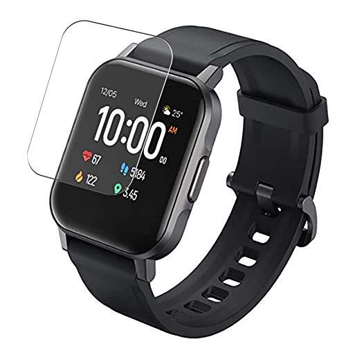 Vaxson 3-Pack TPU Pellicola Protettiva, compatibile con AUKEY LS02 1.4' Smartwatch Smart watch, Screen Protector Film [ Non Vetro Temperato ]