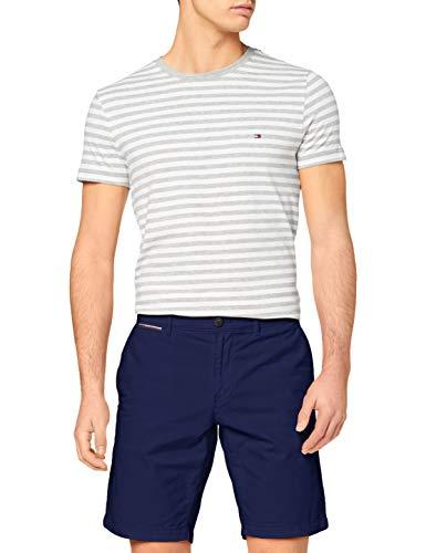 Tommy Hilfiger Herren Brooklyn Short Light Twill Loose Fit Jeans, Blue Ink, NI30
