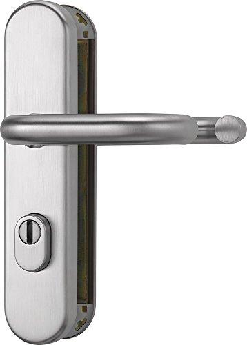 ABUS Tür-Schutzbeschlag KLZS714 ER, mit Zylinderschutz rund, edelstahl, 12231