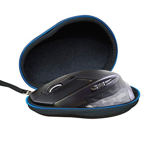 LAVSS Hart Tasche Reise Taschen Hülle Hülle für Logitech MX Master/AMZ/2S Kabellose Maus, Schwarz
