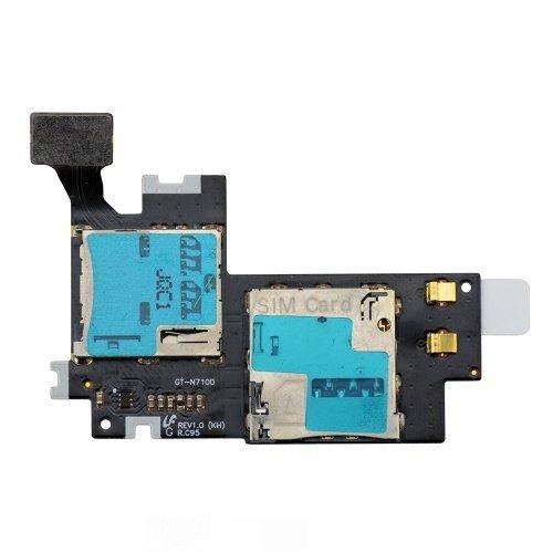 Modul-Player, MicroSD, Sim-Karte und des Samsung Galaxy Note 2 N7100