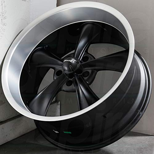 Ridler Style 695 695 Matte Black Wheel with Machined Lip (18x8'/5x120.65mm)