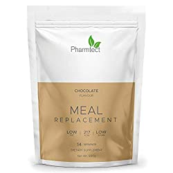 ✓ LET'S KEEP IT SUPER SIMPLE - Simply swap one of your meals or two for our Pharmtect shakes. Incredible long-lasting results made simple and easy. Each shake packs the nutrition you need to stay energised, feel full, and get on with your busy life w...