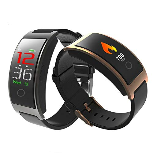 The Best Smart Watch in 2019 - Measure Blood Pressure & Heart Rate in Real Time (Gold)