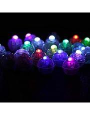 100 stks/partij Ronde Led Bal Lampen, LED Flitslicht, LED Bal Licht Ballon Lichten Lantaarn Kerst Bruiloft Decor, LED Licht Decor Feestlampje knippert voor Bruiloft(color)