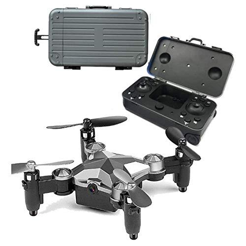 ZHCJH Dron ultrapequeño, 2.4G Control Remoto Mini Drone Cámara aérea HD Vuelo aéreo Plegable con Drones Aproximadamente 7 Minutos Ajuste de 3 velocidades para niños y Principiantes