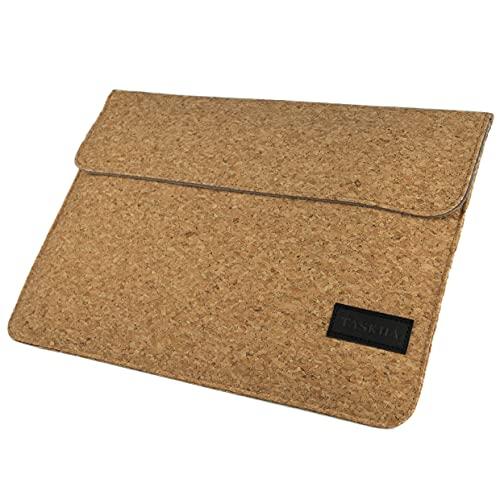 Taskha MacBook Hülle [Kork] MacBook 13 Zoll, Air M1 Pro | Laptoptasche Cork Laptop Zubehör Laptophülle Hülle Hülle Tasche Sleeve Bag Notebooktasche | Jetzt Unikat bestellen!