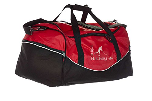 Ju-Sports Tasche Team rot/schwarz Inline Hockey