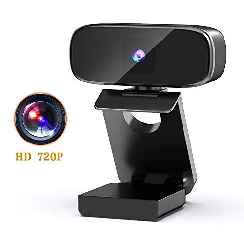 Seinal Webcam mit Mikrofon, Full HD 720P Streaming Webcam für PC, Laptop, Mac, Plug-and-Play Webcam USB mit Autofokus und Weitwinkel für YouTube, Skype Videoanrufe, Lernen, Konferenz, Spielen