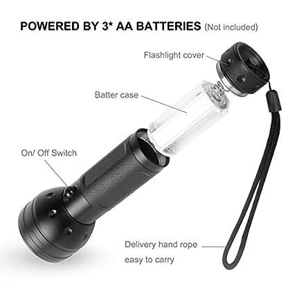 Simply Plus Black Light UV Flashlight, 51 LED Ultraviolet Black Light For Urine Detection For Pet Urine 2