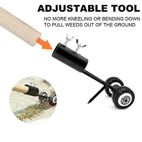 Manual Weeds Snatcher-Crack and Crevice Weeding Tool,Garden Weed Puller Tool,No Bending Weeding Hook Remover for Garden Sidewalks