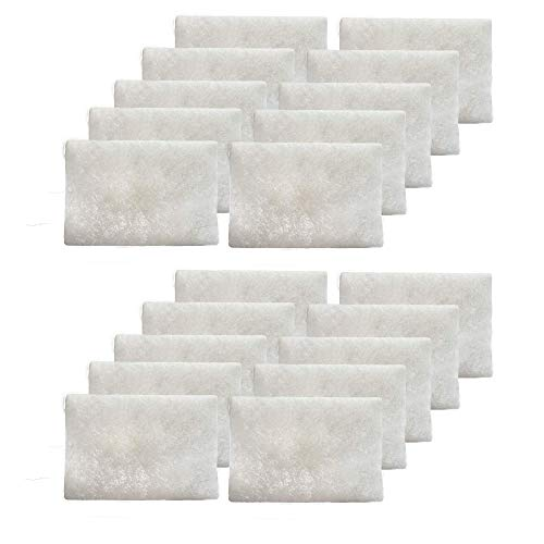CPAP Filters Disposable Felt Pollen air Filter - 20 Pack Standard Universal CPAP Filter Supplies - ResMed Airsense 10, Aircurve 10, S9 Series Machines - by Mars Wellness - Made in The USA
