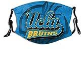 LANCHUN Co_V-Er - Pañuelo para la boca Co_V-Er University-of-California con protección bucal lavable y reutilizable con 2 filtros