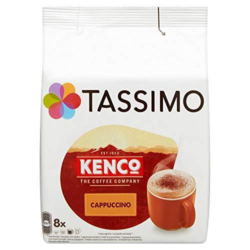 Tassimo Kaffee Kenco Cappuccino 8 Kapseln - 5 Packungen (40 Getränke)