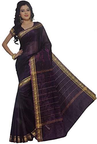 Trendofindia Bollywood Sari Kleid Regenbogen Lila