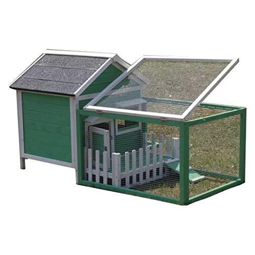 Cage Chat, Clapier Extérieur Haut De Gamme Pet House...