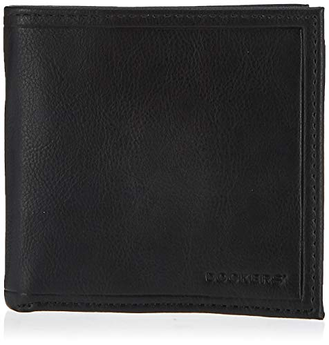 Dockers Men's Extra Capacity Wallet Rfid Hipster Minimalistic Style