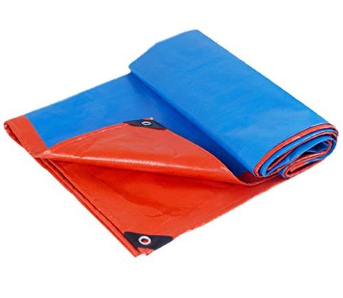 BYCDD Waterdicht, outdoor tarp, waterdicht, zwaar, ideaal voor tentzeilen, canopy tent, boot, camper of zwembad.