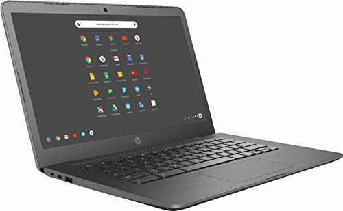 Product Image 1: Newest HP 14-inch Chromebook HD Touchscreen Laptop PC (Intel Celeron N3350 up to 2.4GHz, 4GB RAM, 32GB Flash Memory, WiFi, HD Camera, Bluetooth, Up to 10 hrs Battery Life, Chrome OS , Black )
