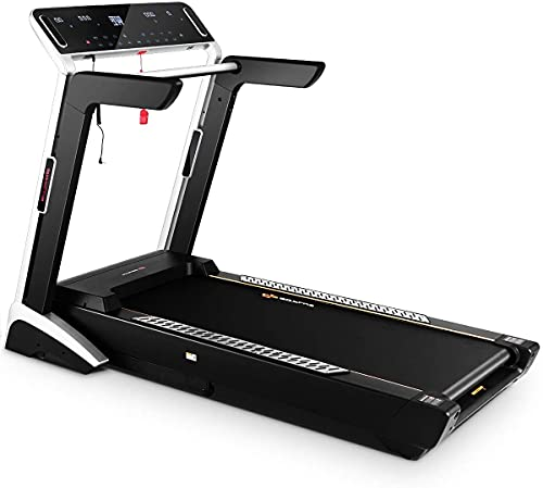 """Goplus 4.0HP Electric Treadmill Auto Incline Heavy Duty Folding Fitness Jogging Running Machine with 7"""" LED Touch Screen (Folding Style)"""