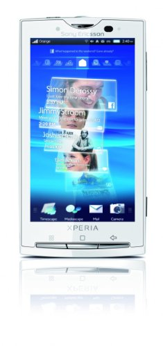 Sony Ericsson Xperia X10 Smartphone (Android OS,Timescape, Mediascape, 8.1 MP Kamera, GPS) Luster White