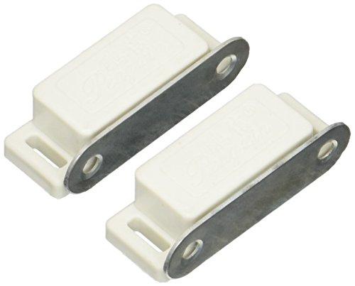Magnétique Amortisseur Tampons Soft Close ouverte à Pousser Porte Noir Blanc Pack de 4 NEUF
