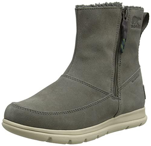 Sorel Women's Sorel Explorer Zip Boot - Rain and Snow - Waterproof - Alpine Tundra - Size 8.5