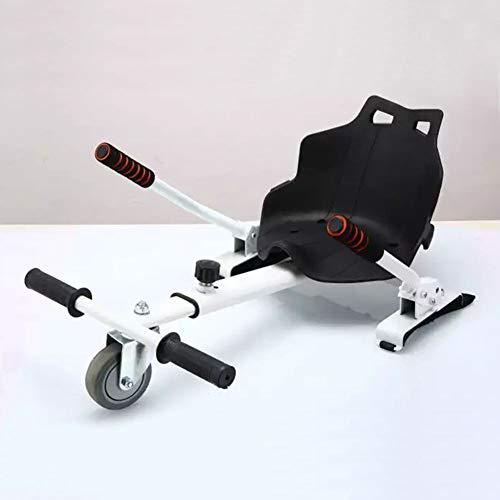 """Wxnnx Accesorio de Asiento de Kart Hoverboard para Scooters eléctricos de autoequilibrio Que se Ajustan a tamaños de Tablas flotantes de 6.5"""", 8"""" y 10""""Hoverkart,D"""