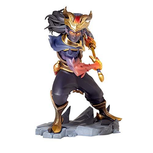for League of Legends Spielfiguren, LOL Series Figuren/Yasuo XL Statue, vorzügliche und kühle Resin Models, Perfekt Kollektionen for Desktop-Platzierung oder Vitrinen