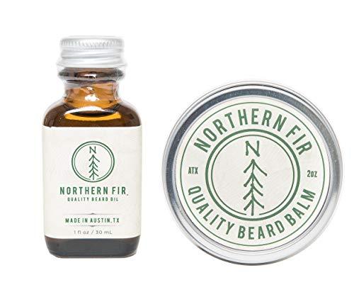 Northern Fir Beard Oil & Balm Kit