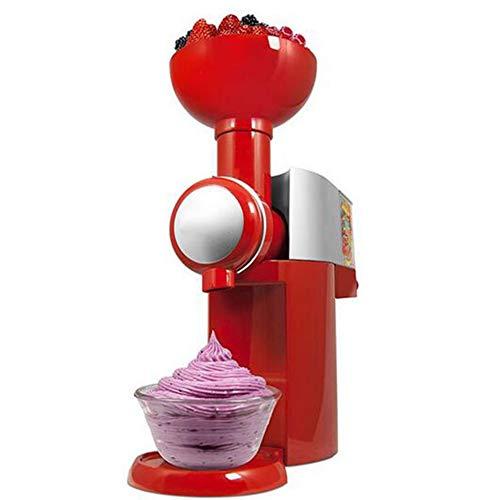 Law Macchina per Gelato, Gelatiera Ad Accumulo per Sorbetti Frozen Yogurt Gelato Artigianale Fatto in Casa, Completamente Smontata per Facile da Pulire, per Frutta Congelata