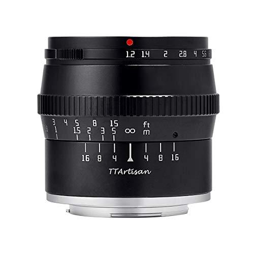 【国内正規品】銘匠光学 TTArtisan 50mm f/1.2 C (マイクロフォーサーズ) 「2年保証付」