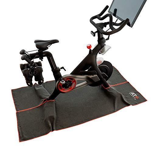 Toalla de sudor para bicicleta Peloton + Accesorios para Peloton - Fácil limpieza para escaladas intensas