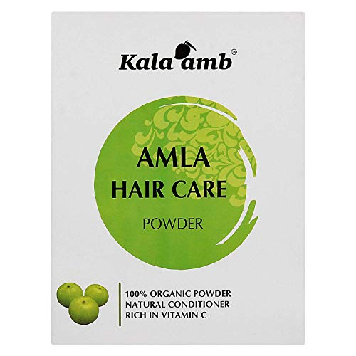 Lendom Kala amb Khadi Herbal Amla Powder for hair care, 150g
