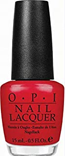 O.P.I Nail Lacquer, Color So Hot It Berns, 15ml