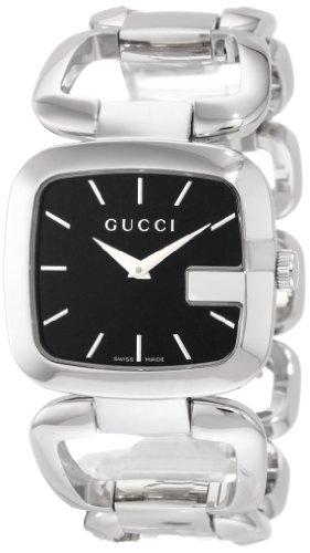 Gucci YA125407 - Reloj de Pulsera Mujer, Acero Inoxidable