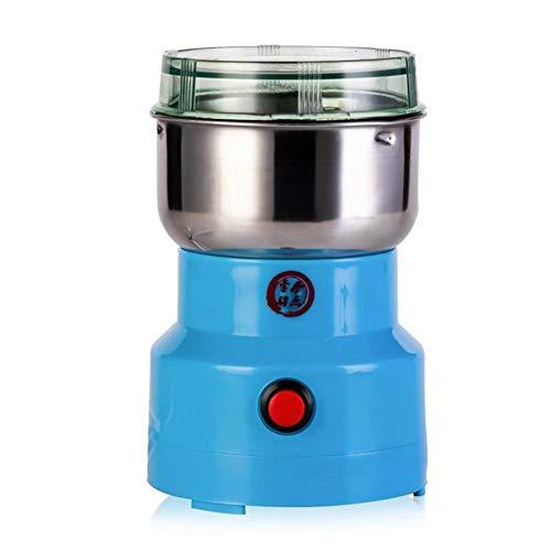 N/I Molinillo de Grano eléctrico, Molinillo de café, Molinillo eléctrico Molinillos de café Cuchillas de Acero Inoxidable para Granos de café Especias Nueces Semillas Hierbas