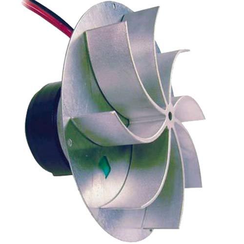 Easyricambi Fodis VFC2C23 - Extractor de humos para estufa de pellets, motor Ecofit 2RECA3, con motor Encoder, ventilador de 31 mm, rotación horaria