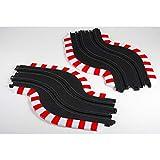 AFX/Racemasters Slot Track Chicane Set, L&R, AFX70617