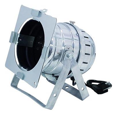 Eurolite 42101420 PAR-64 Spot Floor with Plug Silver