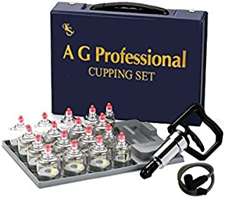 Professional Cupping Set *Made in Korea* (17 Cups) with Extension Tube($3.00 Value) KS Choi Corp